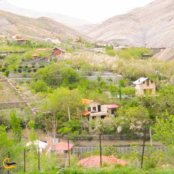 تصویری از روستای لواسان