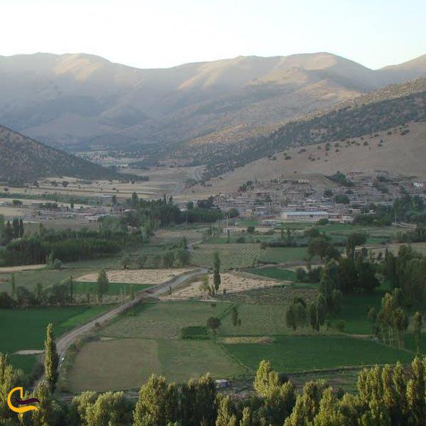 نمایی از روستای شوی