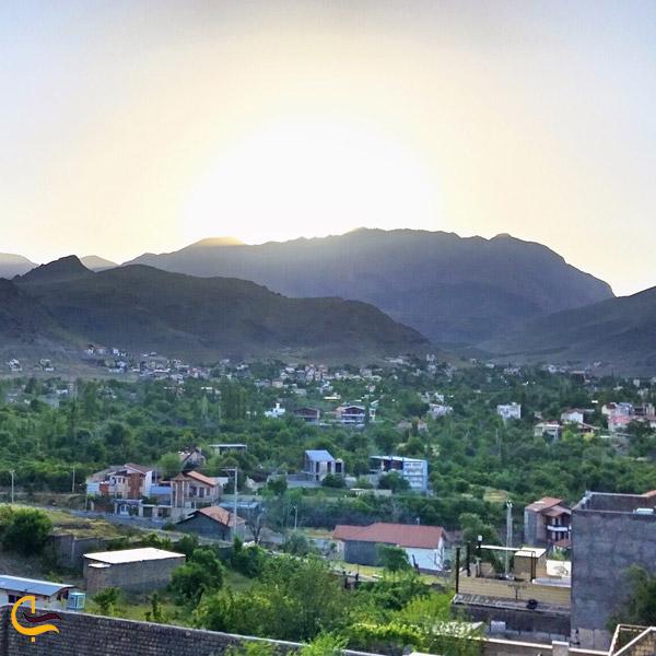 تصویری از زیبایی های شهرستان قصمر در کاشان