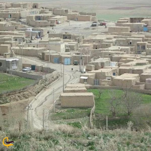 تصویری ازخانه های روستای بیجار
