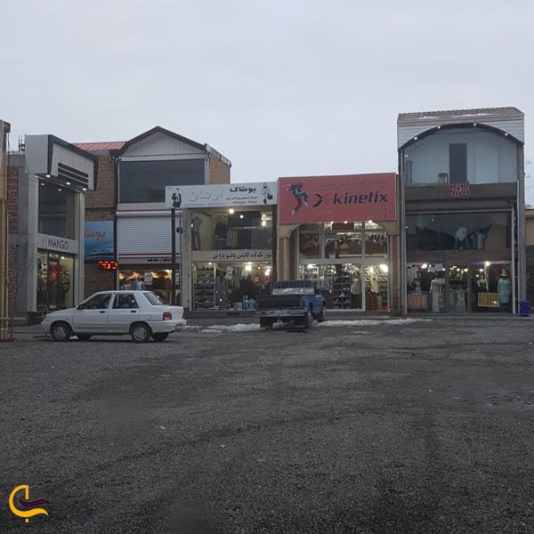 تصویری از بازارچه مرزی سرو