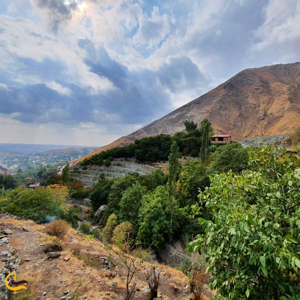 تصویری از طبیعت روستای افجه