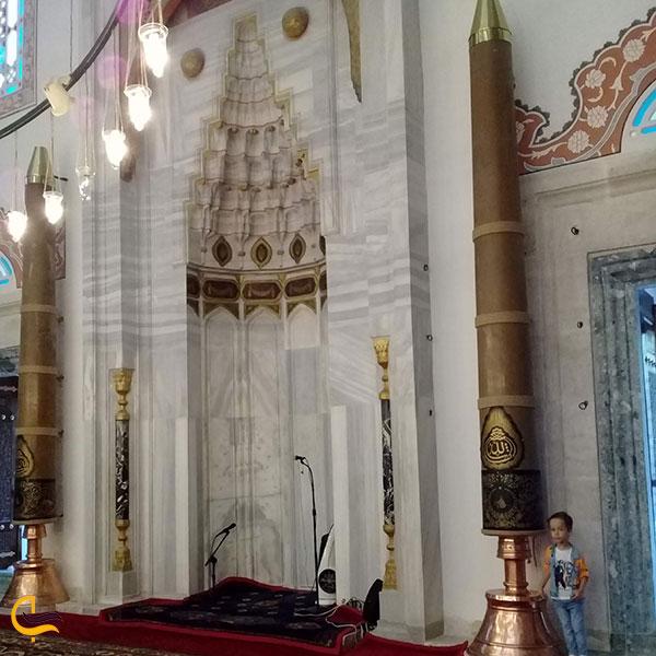 عکس محراب مسجد سلیمانیه