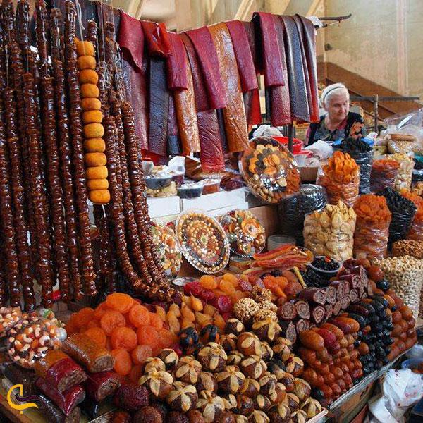 عکس لواشک میوهای سوغات ارمنستان