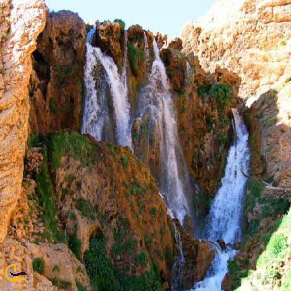 عکس آبشار اسفجیر فاروج