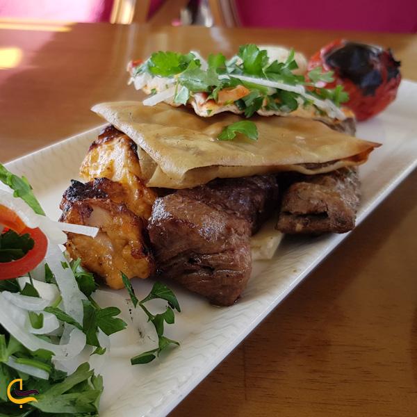 تصویری از غذای رستوران باب ال یام دبی