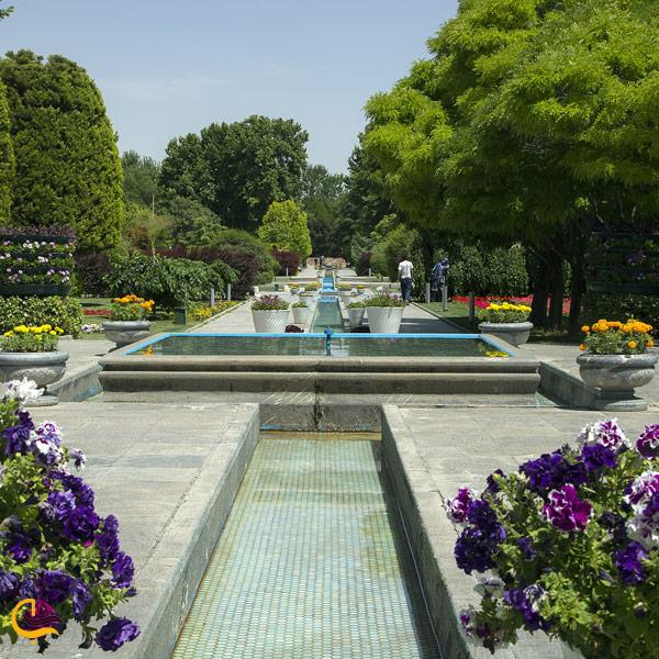 عکس از باغ گیاه شناسی اصفهان