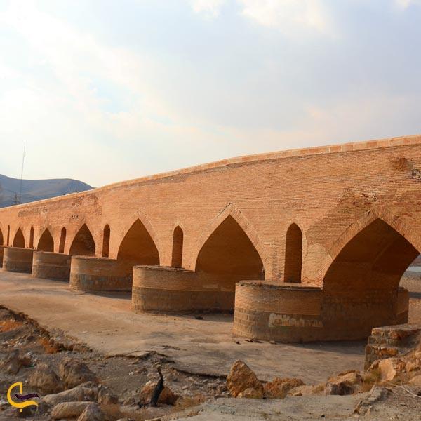 تصویری از پل صلوات آباد