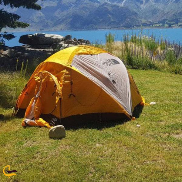 عکس کمپ دراطراف دریاچه