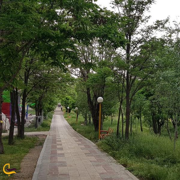 تصویری از پارک چمران خلخال