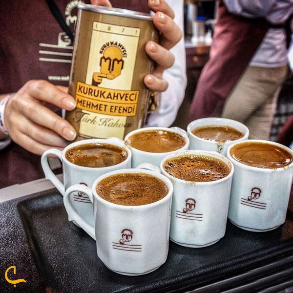 عکس قهوه چی مهمت افندی بازار ادویه استانبول