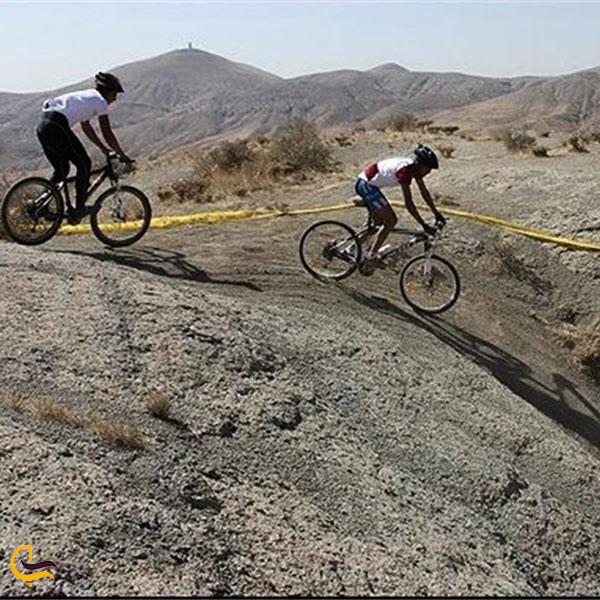 عکس پیست دوچرخه سواری دارآباد تهران