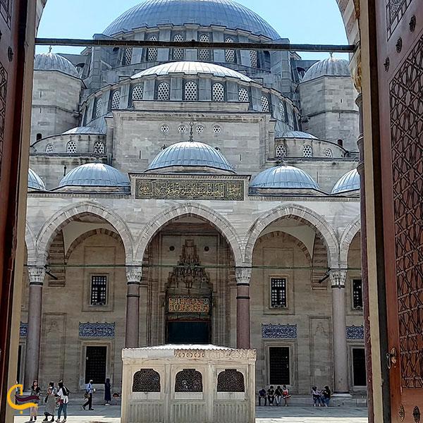 عکس معماری مسجد سلیمانیه استانبول