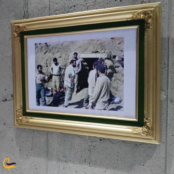 تصویری از موزه دفاع مقدس کرمانشاه
