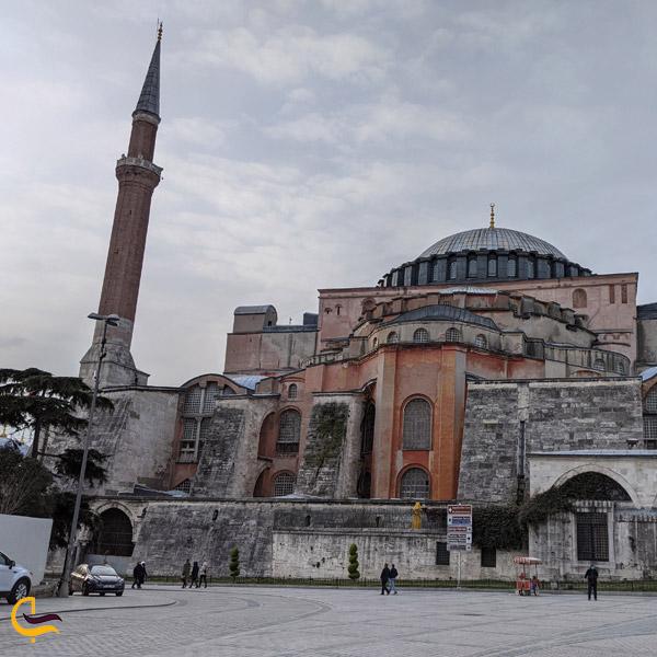تصویری از مسجد ایا صوفیه