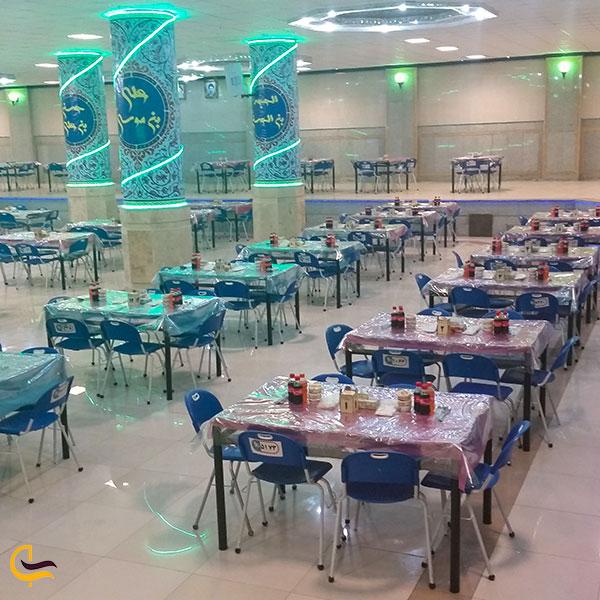 عکس رستوران بزرگ حضرت