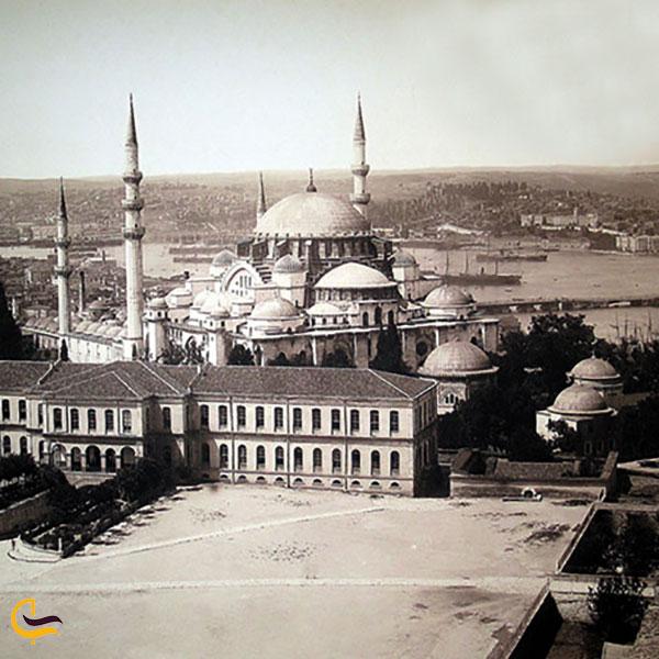 عکس تاریخچه عبادتگاه سلیمانیه استانبول
