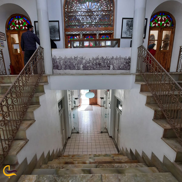 تصویری از معماری خانه تاریخی مشروطه تبریز