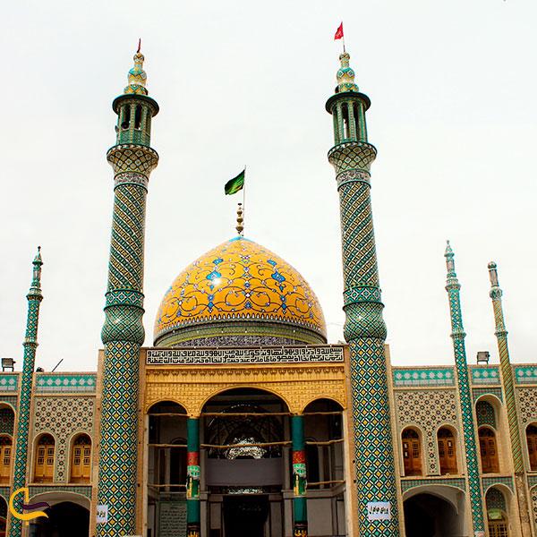 عکس امامزاده سلطانعلی ابن محمد باقر مشهد اردهال