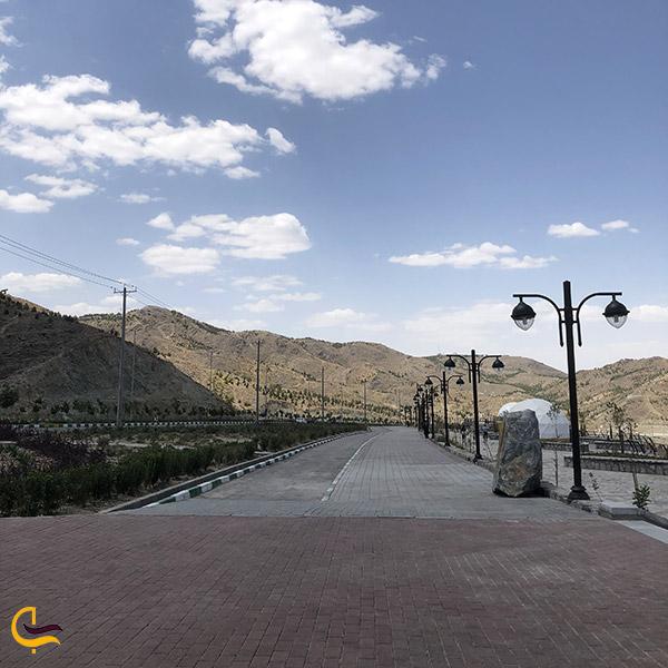 عکس مسیر ورودی زیست پارک مشهد