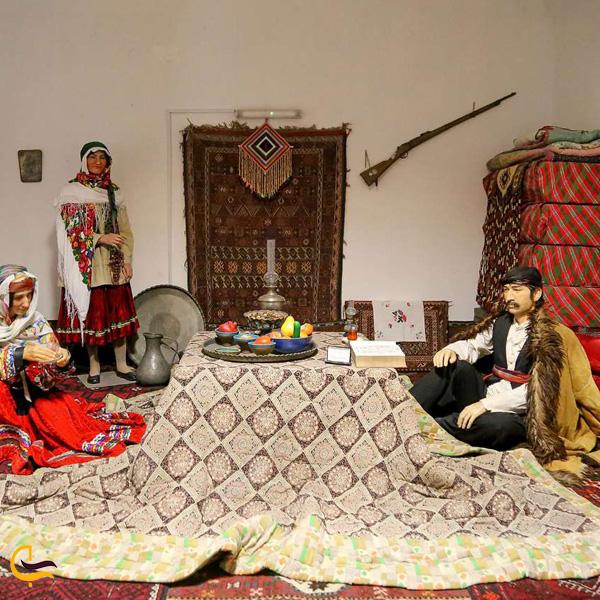 تصویری از موزه مردم شناسی کرمانشاه