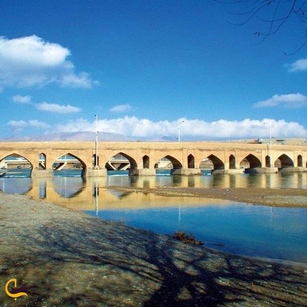 تصویری از پل قدیمی فلاورجان