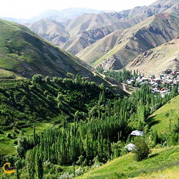 تصویری از روستای اورازان
