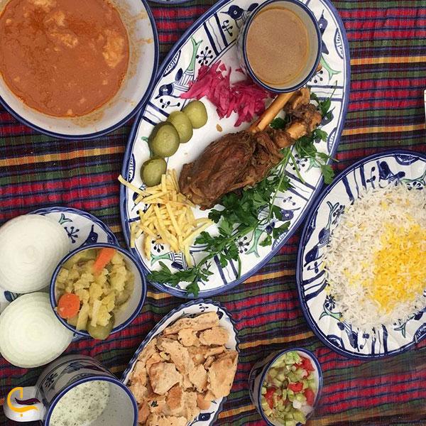 عکس غذاهای ایرانی فودکورت میکامال کیش