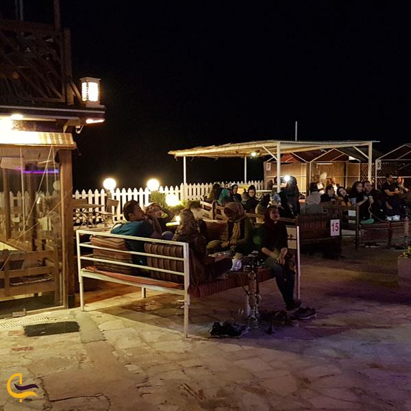 عکس ازکافی شاپ و رستورن در پارک ساحلی زیتون قشم