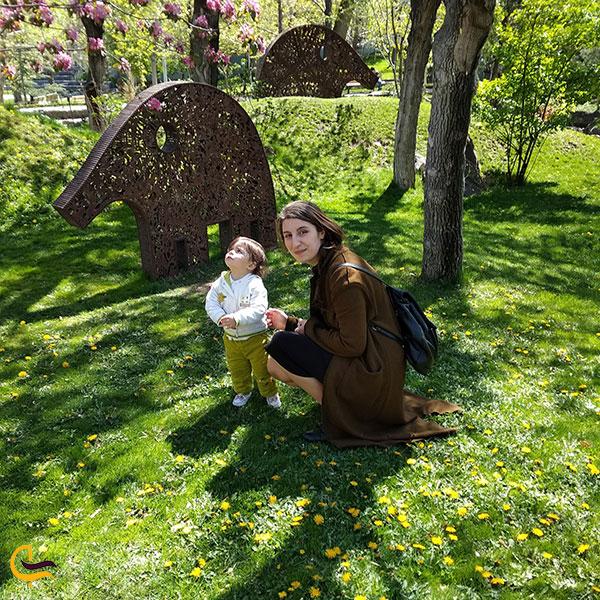 عکاسی در پارک عشاق ایروان