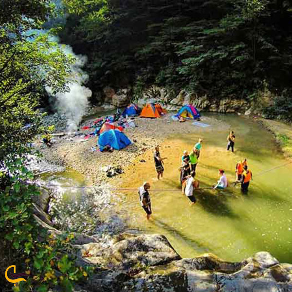 عکس پیکنیک در تنگه چاکرود رحیم آباد