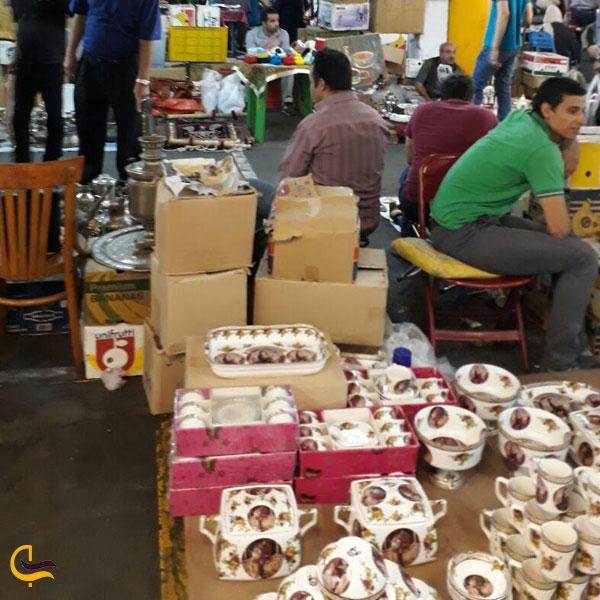 تصویری از خرید از جمعه بازار پروانه