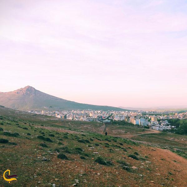 تصویری ازطبیعت سرسبز شهرستان بیجار