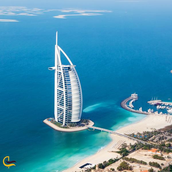 تصویری از هتل برج العرب دبی