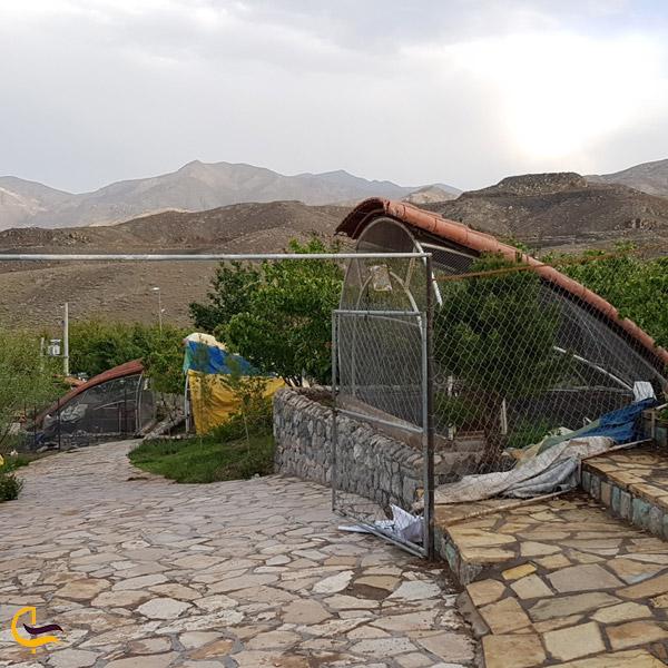 تصویری از باغ پرندگان قمصر