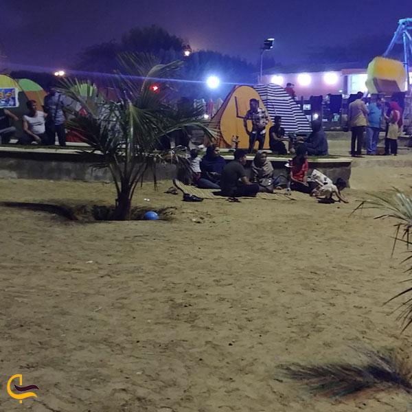تصویری ازاقامت در پارک ساحلی قشم