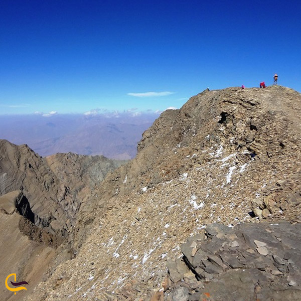 تصویری از قله شاه البرز