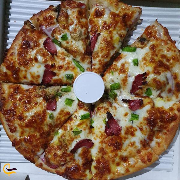 عکس پیتزا و ساندویچ پونک