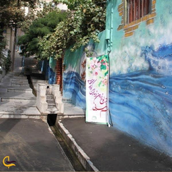 تصویری از کوجه قنات تهران