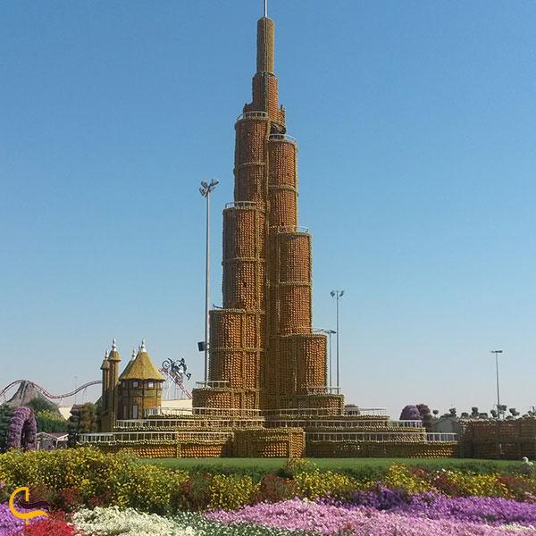 عکس ماکت برج خلیفه