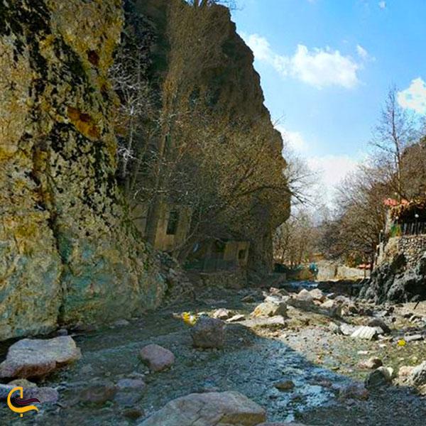 عکس رودهای روستای امامه