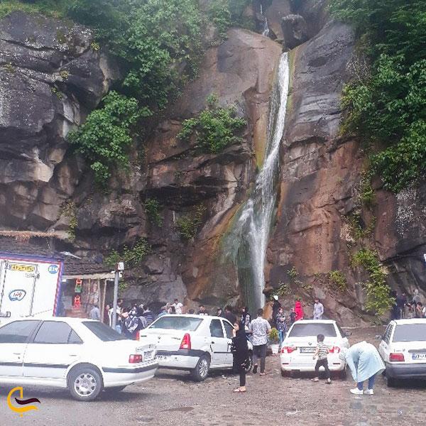 عکس آبشار صفا رود