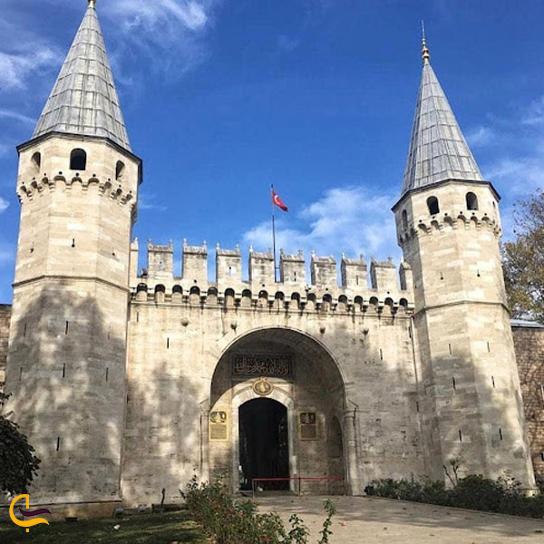 تصویری از کاخ توپکاپی