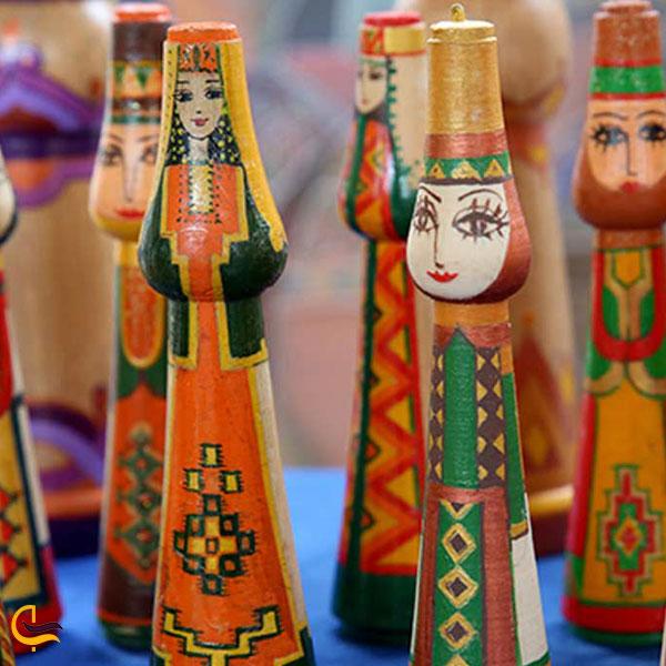 عکس سوغات چوبی ارمنستان