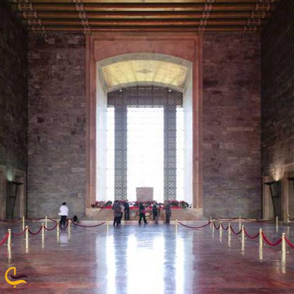 تصویری از مقبره آتاتورک