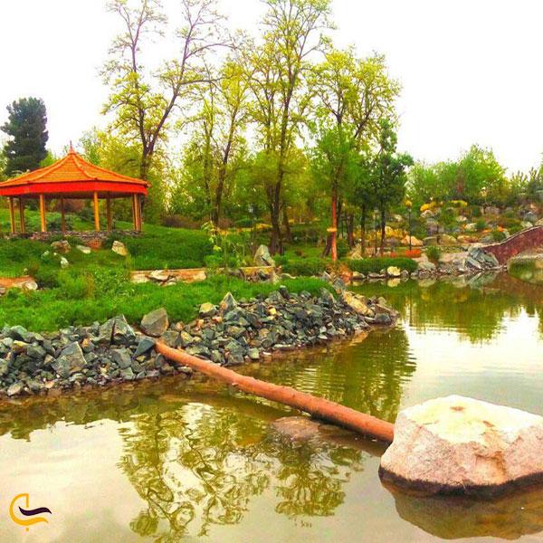 تصویری از باغ گیاهشناسی مشهد