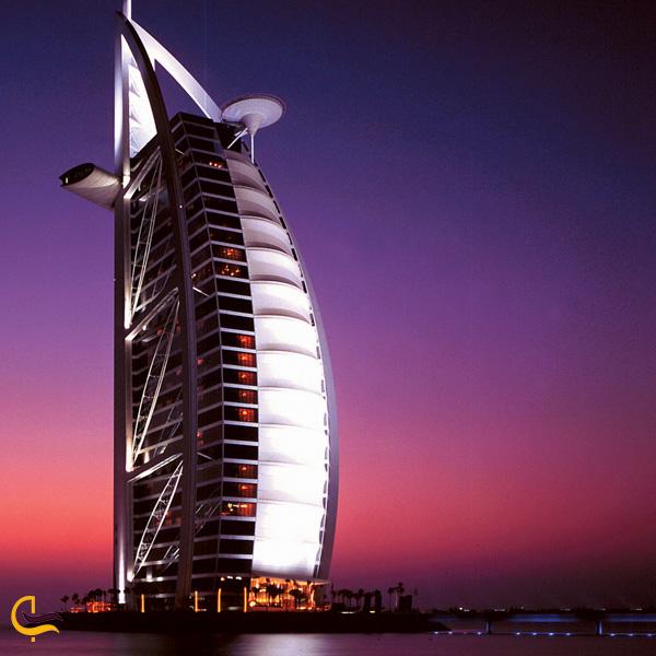 عکس از برج العرب دبی
