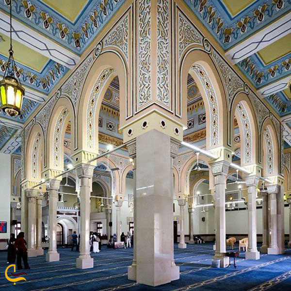 تصویری از ابعاد و ظرفیت عبادتگاه جمیرا