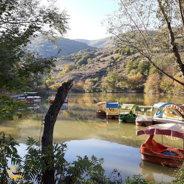 تصویری از دریاچه شورمست
