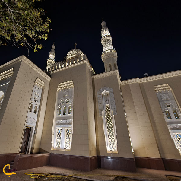 تصویری از مسجد جمیرا دبی